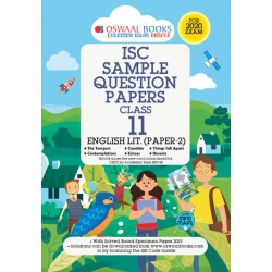 Oswaal ISC Sample Question Paper Class 11 English