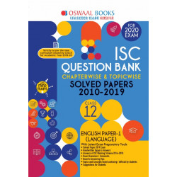 Oswaal ISC Question Bank Class 12 English Paper-1 Language