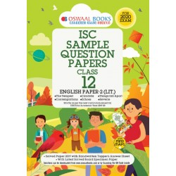 Oswaal ISC Sample Question Papers Class 12 English