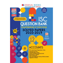 Oswaal ISC Question Bank Class 12 Accounts Chapterwise &