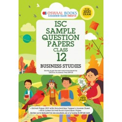 Oswaal ISC Sample Question Papers Class 12 Business Studies