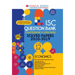 Oswaal ISC Question Bank Class 12 Economics Chapterwise &