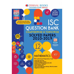 Oswaal ISC Question Bank Class 12 Mathematics Chapterwise &