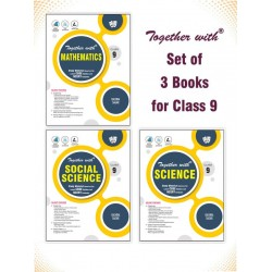 Together With Math,Sci.,S.Sci. 3 book  Class 9 For 2021 Exam
