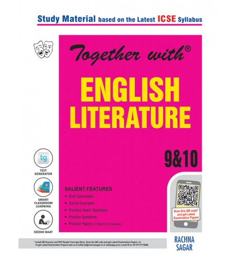 Together With ICSE English Literature Study Material for Class 10 2020-21