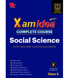 Xam idea CBSE Social Science Class 10 2019-20