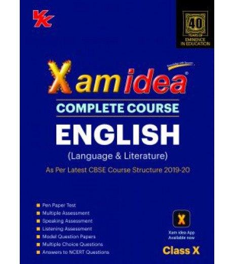 Xam idea CBSE English Class 10 2019-20