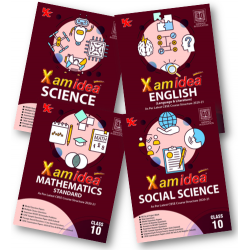 Xam idea Class10 Combo Pack -English,Sci.,S.S.and Maths.for