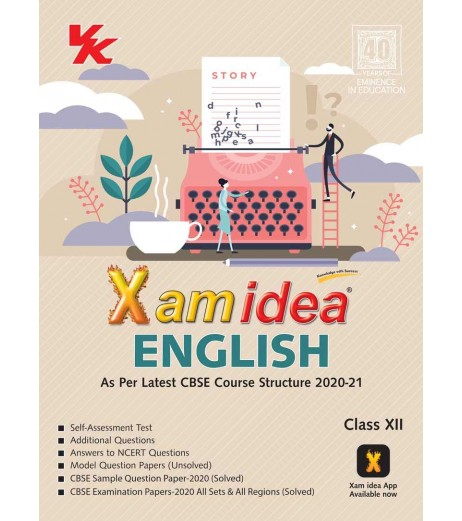 Xam idea English CBSE Class 12 2020-21