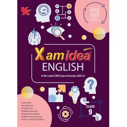 Xam idea CBSE English Class 9  2020-21