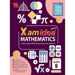 Xam idea CBSE Mathematics Class 9  2020-21