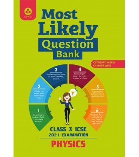 Oswal Most Likely Question Bank for Physics ICSE Class 10 2020-21