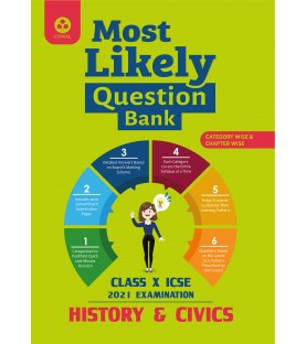 Oswal Most Likely Question Bank for History and Civics ICSE Class 10 2020-21