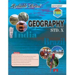 Reliable Geography Class 10 MH Board