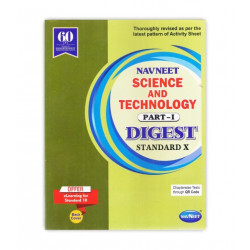 Navneet Science & Technology-I Digest Class 10  2019-20