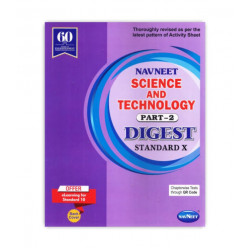 Navneet Science & Technology-II Digest Class 10  2019-20