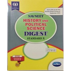 Navneet History and Pol. Sci. Digest Class 10  2020-21