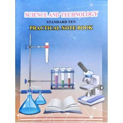 Science And Technology Practical Note Book Std 10