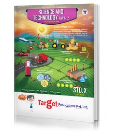 Target Publication Std. 10th Perfect Science and Technology - 2 Notes, English Medium (MH Board)