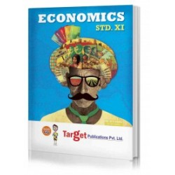 Target Publication Std.11th Economics Notes, Commerce and Arts (MH Board)