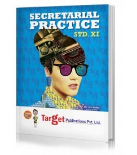 Target Publication Std.11th Secretarial Practice Notes, Commerce (MH Board)