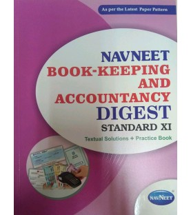 Navneet Bookkeeping  and Accounatncy  Digest Class 11 2021