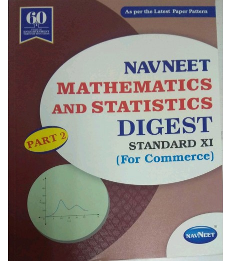 Navneet Mathematics and Statistics part-2 (Commerce) Digest Class 11