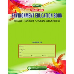 Uttam Environment Education Project Book for Std 11