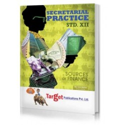Target Publication Std.12th Secretarial Practice Notes, Commerce (MH Board)