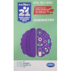 Navneet 21 Most Likely Question sets 2021 HSC Chemistry Std