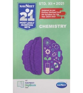 Navneet 21 Most Likely Question sets 2021 HSC Chemistry Std 12