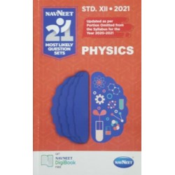 Navneet 21 Most Likely Question sets 2021 HSC Physics Std 12