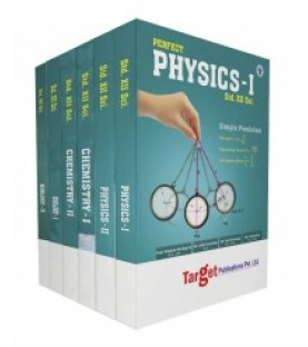 Target Publication Std.12th Science Perfect Series Physics, Chemistry and Biology Combo (PCB)