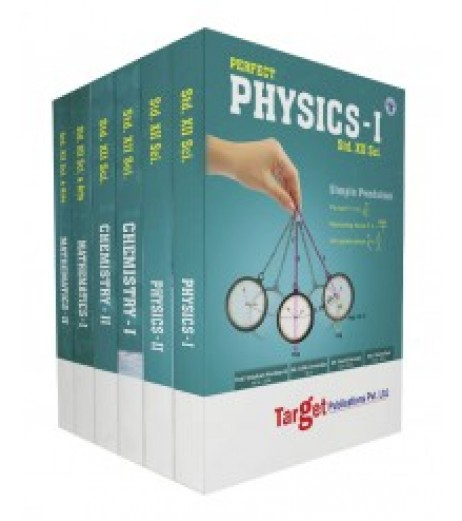 Target Publication Std.12th Science Perfect Series Physics, Chemistry and Maths Combo (PCM)
