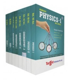 Target Publication Std.12th Science Perfect Series Physics, Chemistry, Maths and Biology Combo (PCMB)