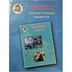 Physics Practical Notebook Std 12 HSC Maharashtra State