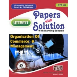 Uttams Paper with Solution Std 12 Organisation of Commerce and Management