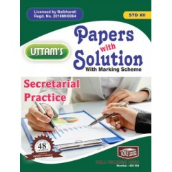 Uttams Paper with Solution Std 12 Secretarial Practices