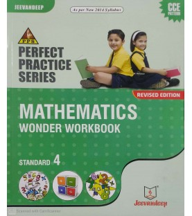 Jeevandeep Mathematics Workbook std 4 Maharashtra State Board