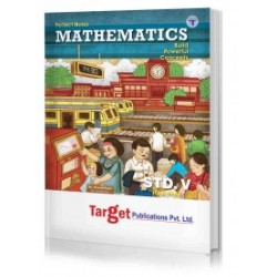 Target Publication Class 5 Perfect Mathematics (MH Board)