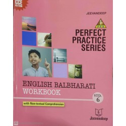 Jeevandeep English Balbharti Workbook std 6 Maharashtra