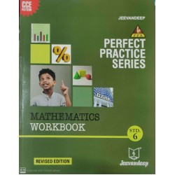 Jeevandeep Mathematics Workbook std 6  Perfect Practice