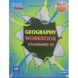 Navneet Vikas Smart Geography Workbook std 6 Maharashtra