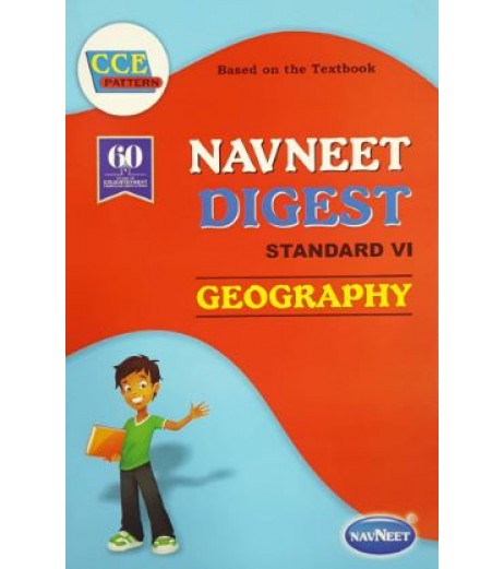 Navneet Digest Geography Std 6 Maharashtra State Board