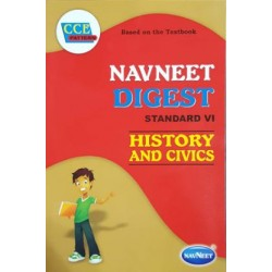 Navneet Digest History and Civics Std 6 Maharashtra State