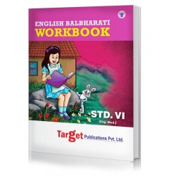 Target English Balbharti Workbook std 6 Maharashtra State