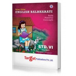 Target Publication Class 6 Perfect English Balbharati (MH
