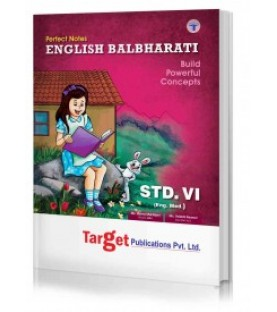 Target Publication Class 6 Perfect English Balbharati (MH Board)