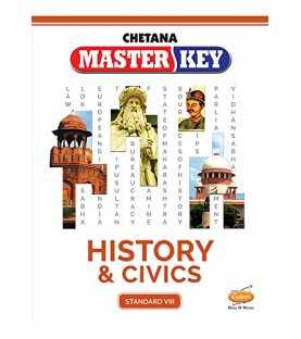 Chetna Master key History and Civics Std 8 Maharashtra State Board