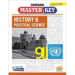 Chetna Master key History & Political Science Std 9